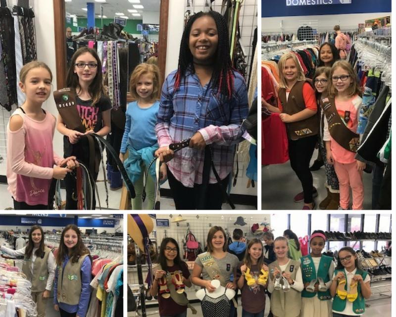 Girl Scouts volunteer images