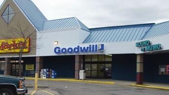 Goodwill Brunswick retail storefront