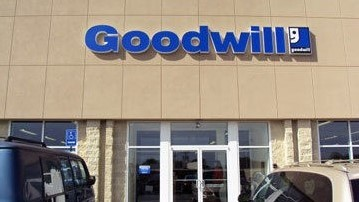 Goodwill Ontario retail storefront